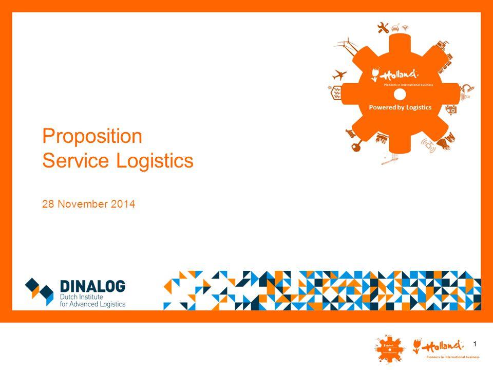 Proposition Service Logistics 28 November 2014 1
