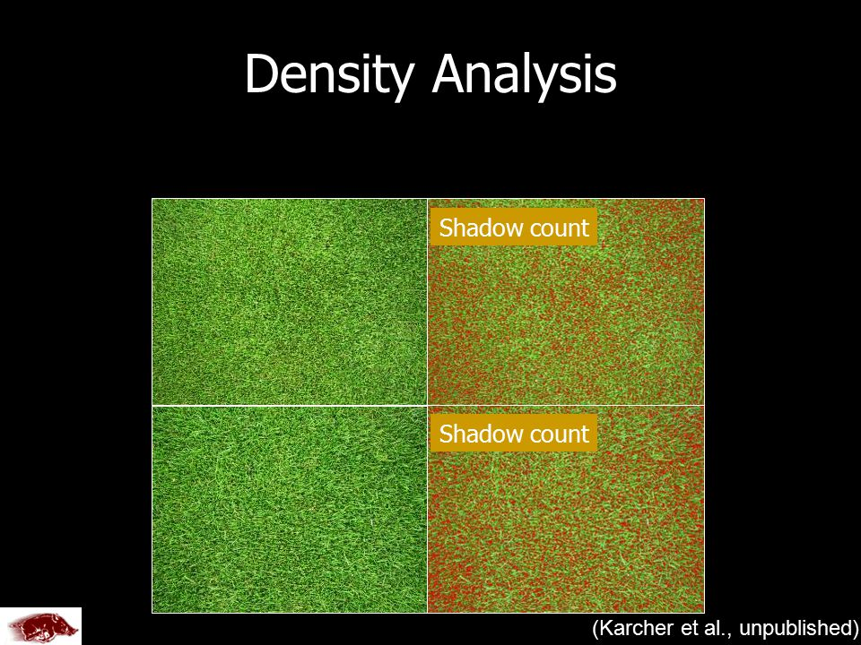 (Karcher et al., unpublished) Density Analysis Shadow count Created by U of A