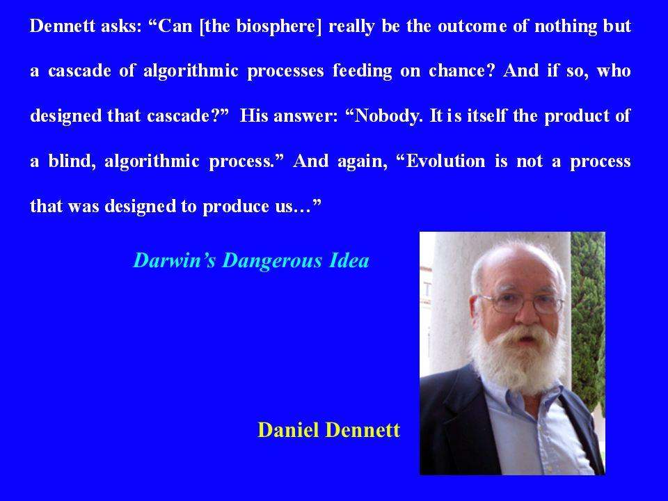 Daniel Dennett Darwin's Dangerous Idea