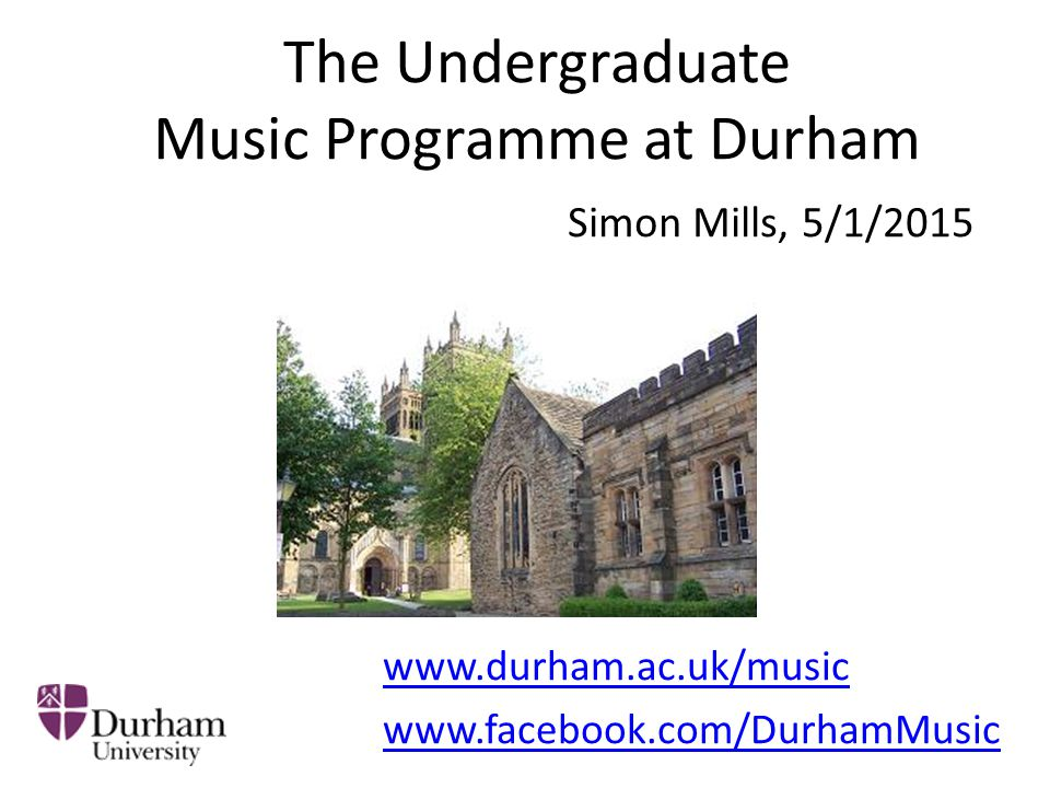 Overview of Music Degree 1 st year: Introducing the pathways Music History (Musicology) Ethnomusicology Theory and Analysis Techniques Composition Performance