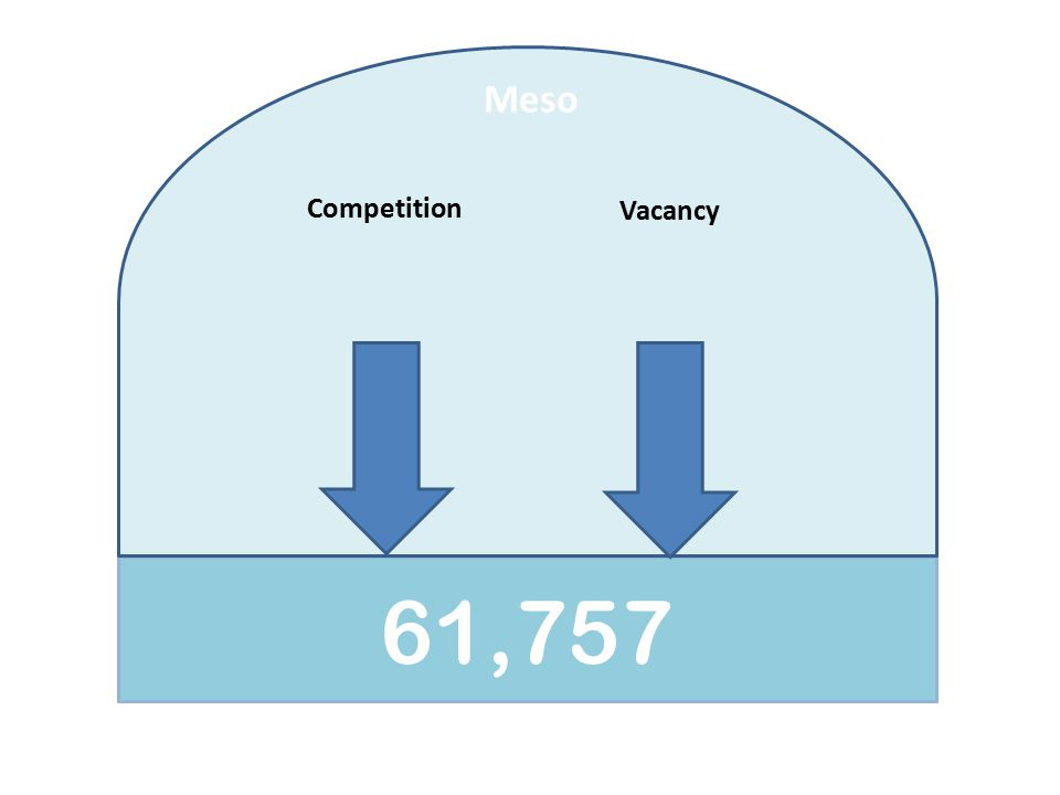 61,757 Meso Competition Vacancy