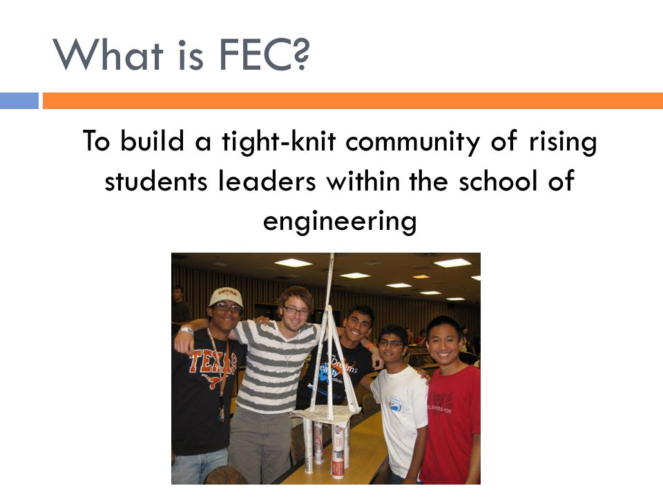 What is FEC.