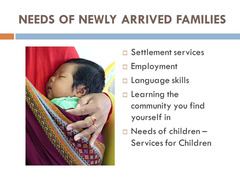 NEEDS OF SERVICES FOR CHILDREN  What is Maternal and Child Health.