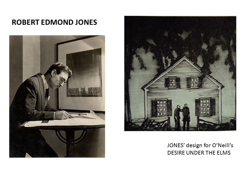 ROBERT EDMOND JONES JONES' design for O'Neill's DESIRE UNDER THE ELMS