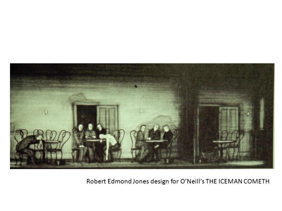 Robert Edmond Jones design for O'Neill's THE ICEMAN COMETH