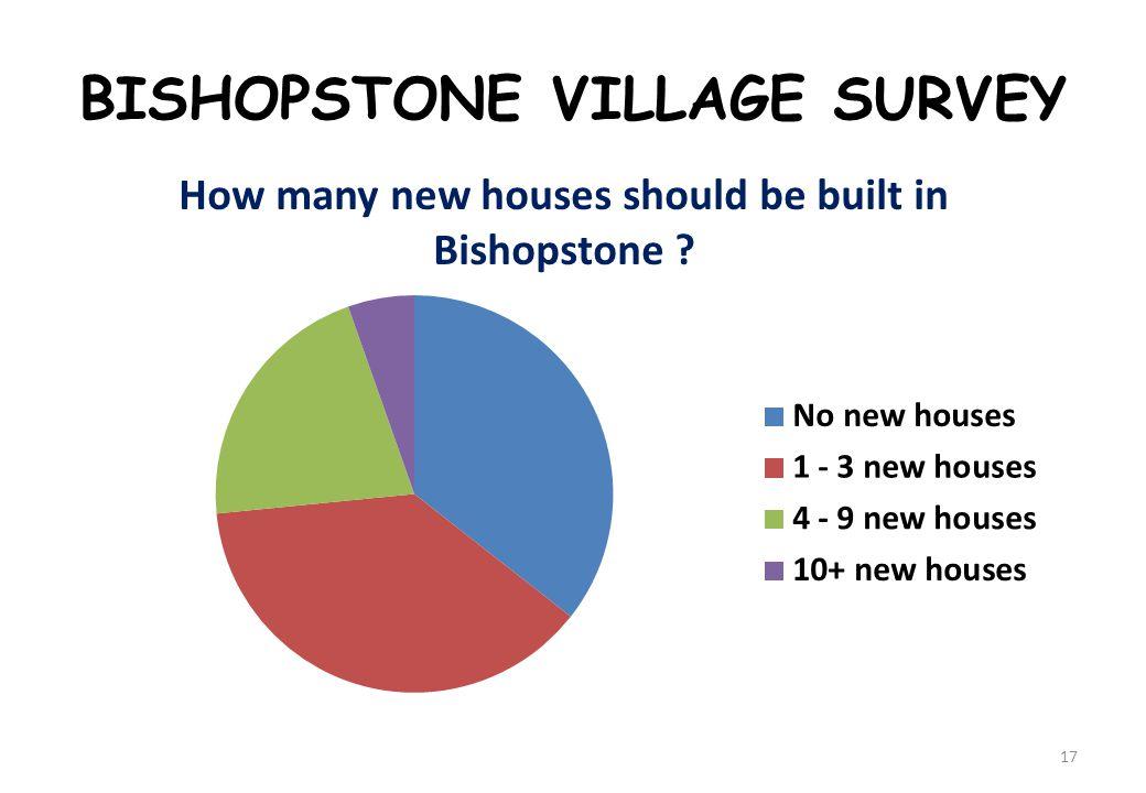 BISHOPSTONE VILLAGE SURVEY 17