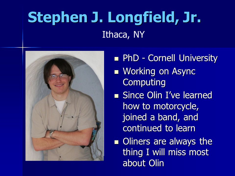 Stephen J. Longfield, Jr.