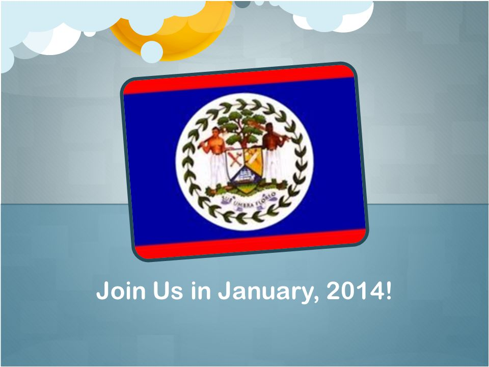 Join Us in January, 2014!