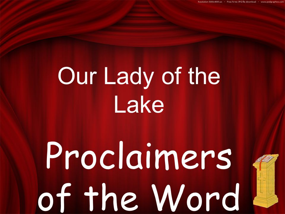 Our Lady of the Lake Proclaimers of the Word
