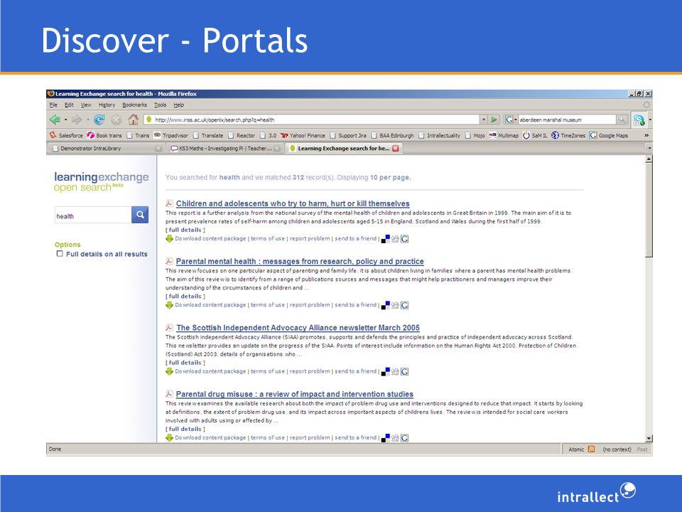 Discover - Portals