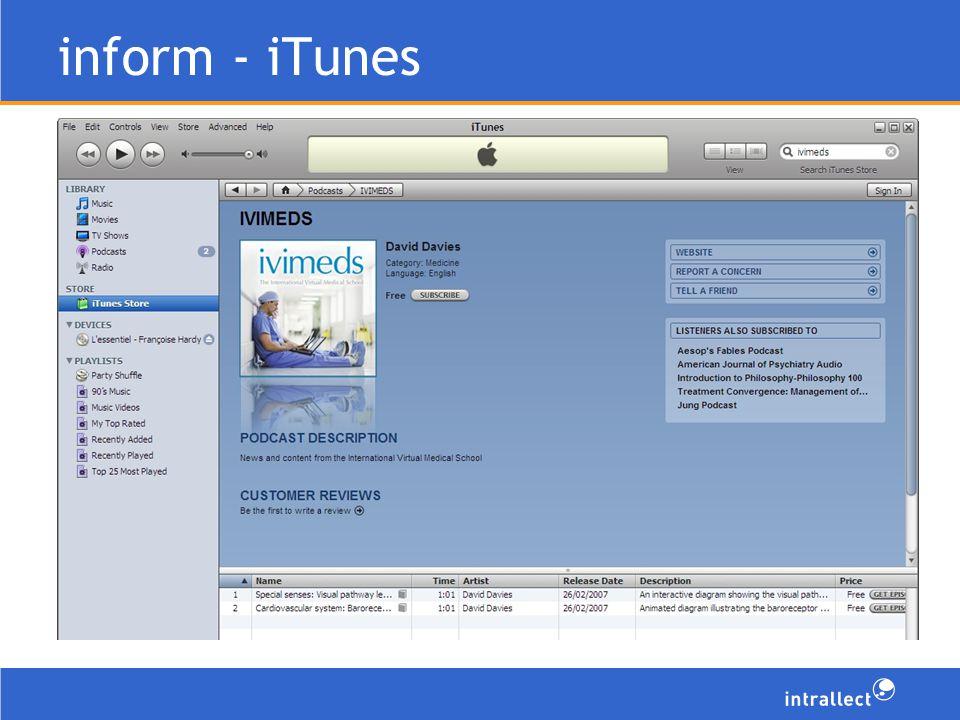 inform - iTunes