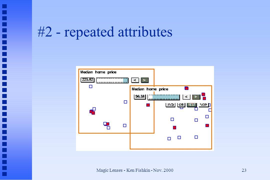 Magic Lenses - Ken Fishkin - Nov. 200023 #2 - repeated attributes