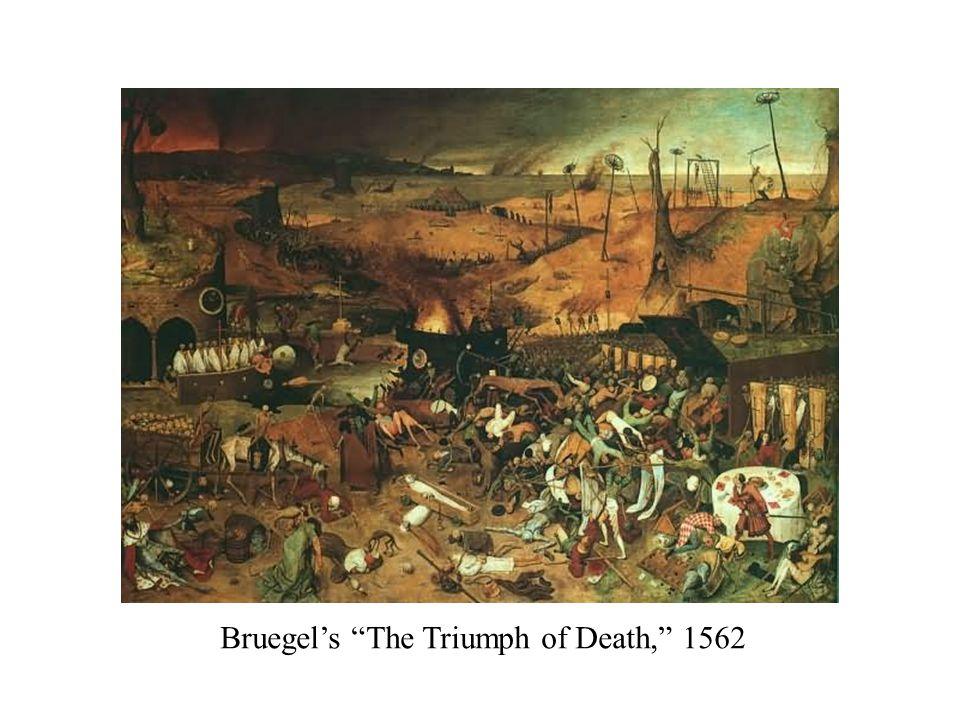 "Bruegel's ""The Triumph of Death,"" 1562"