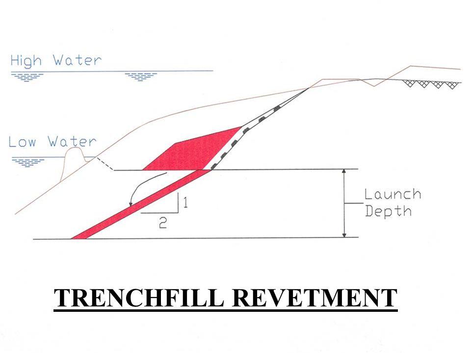 TRENCHFILL REVETMENT
