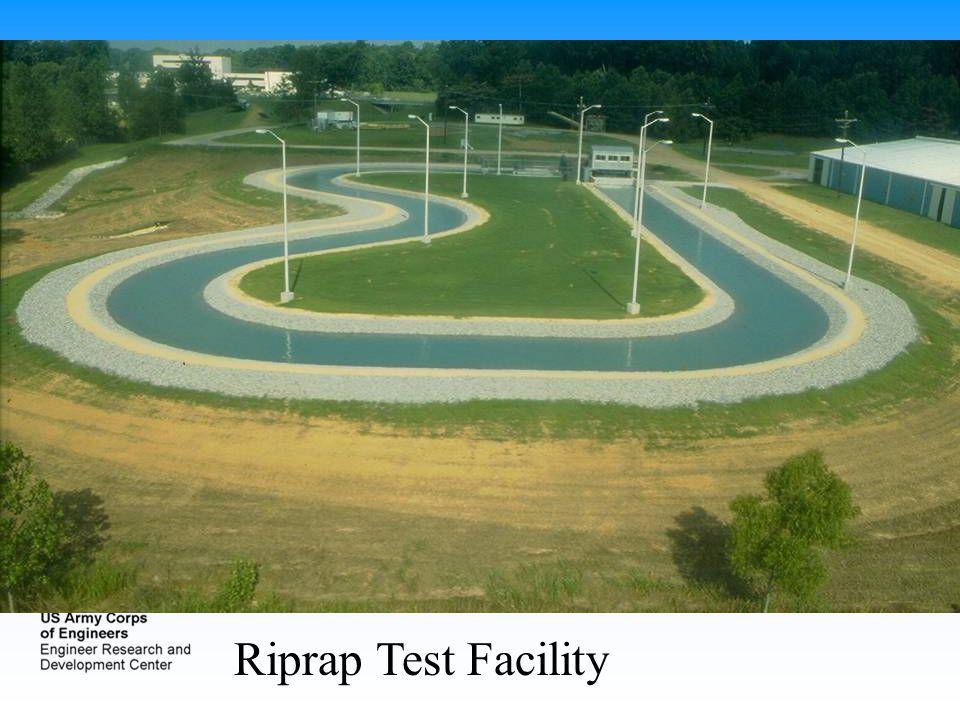 Riprap Test Facility