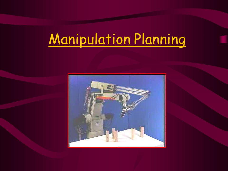 Manipulation Planning