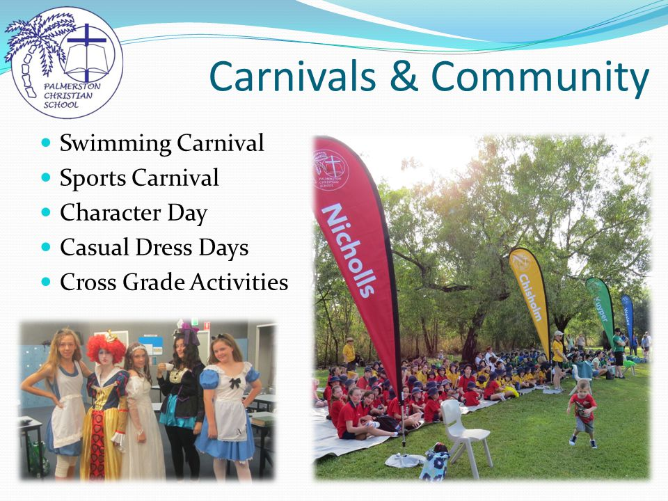 Carnivals & Community Swimming Carnival Sports Carnival Character Day Casual Dress Days Cross Grade Activities