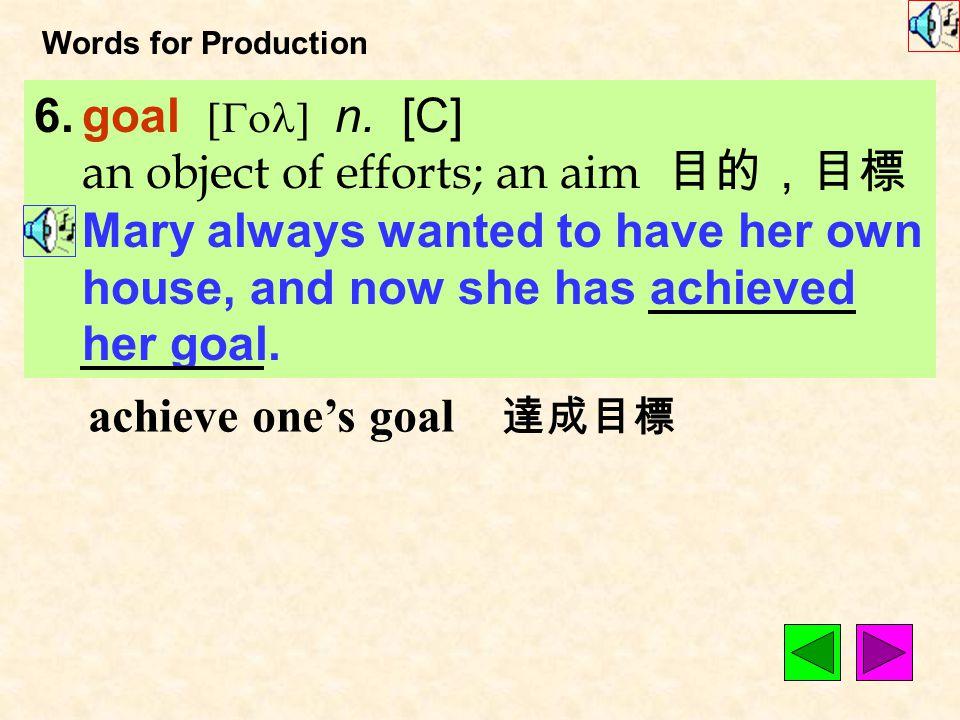 Words for Production 5.realistic [&ri1`lIstIk] adj.