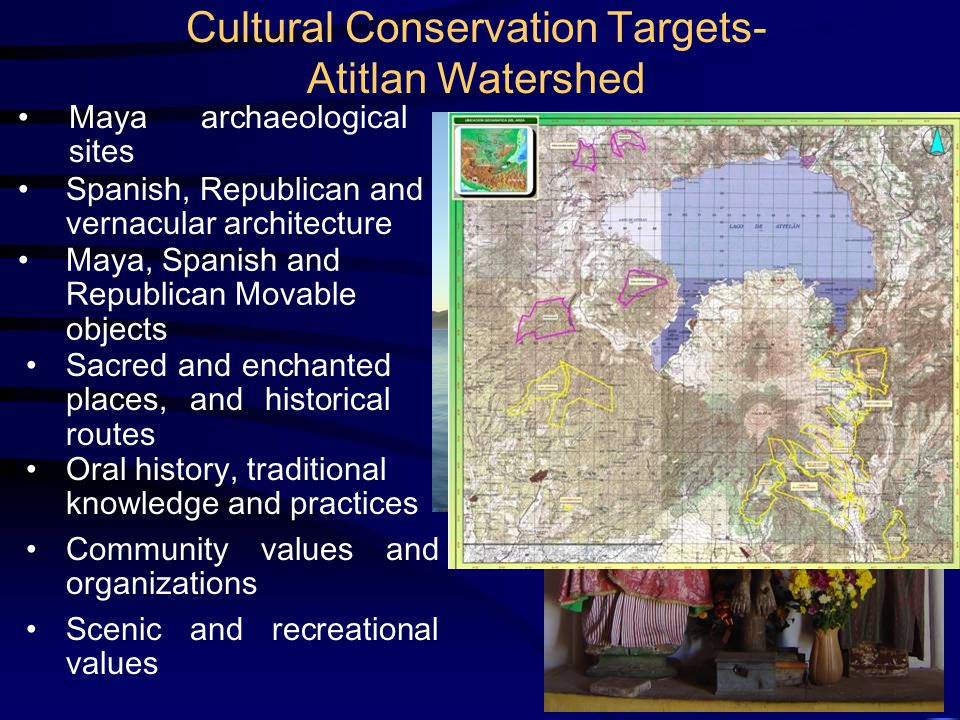 Viability Analysis Integrity Analysis Significance Analysis Natural TargetsTangible Cultural Targets Non-Tangible Cultural Targets SizeConceptual Meaning Correspondence ConditionPhysical Condition Inter-generational Transmisibility Landscape Context Social and Natural Context Context