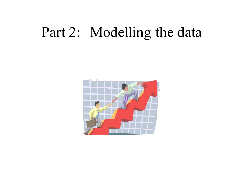 Part 2:Modelling the data