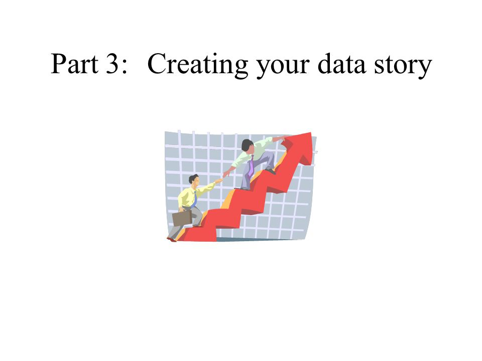 Part 3:Creating your data story