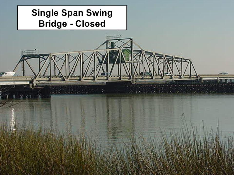 Single Span Swing Bridge - Closed