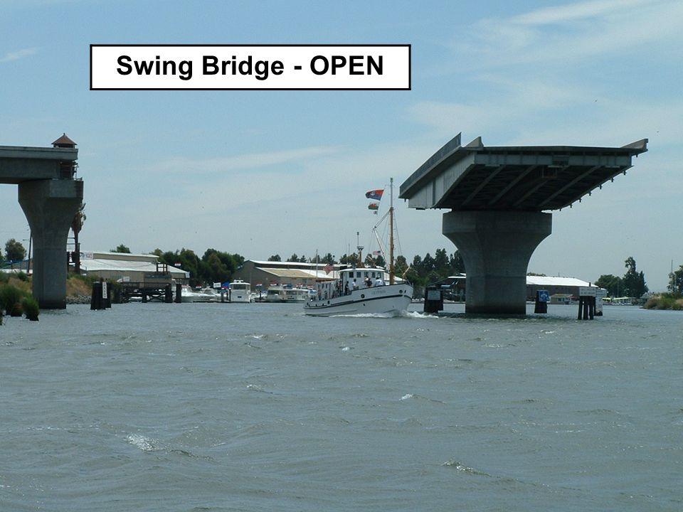 Swing Bridge - OPEN