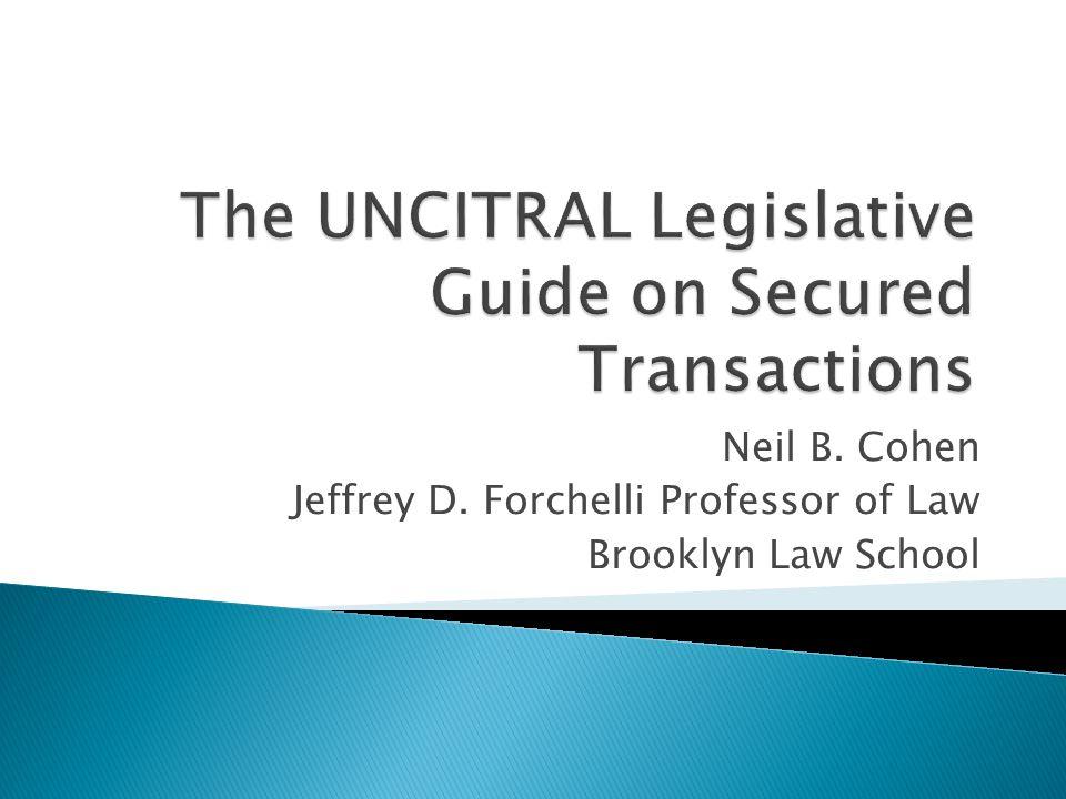 Neil B. Cohen Jeffrey D. Forchelli Professor of Law Brooklyn Law School
