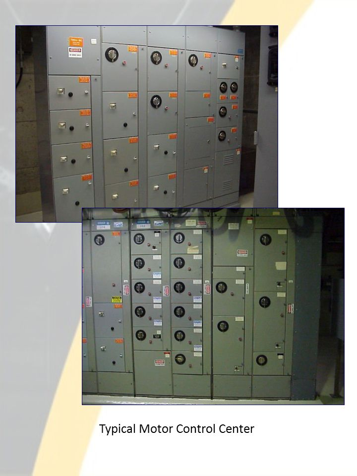 Typical Motor Control Center