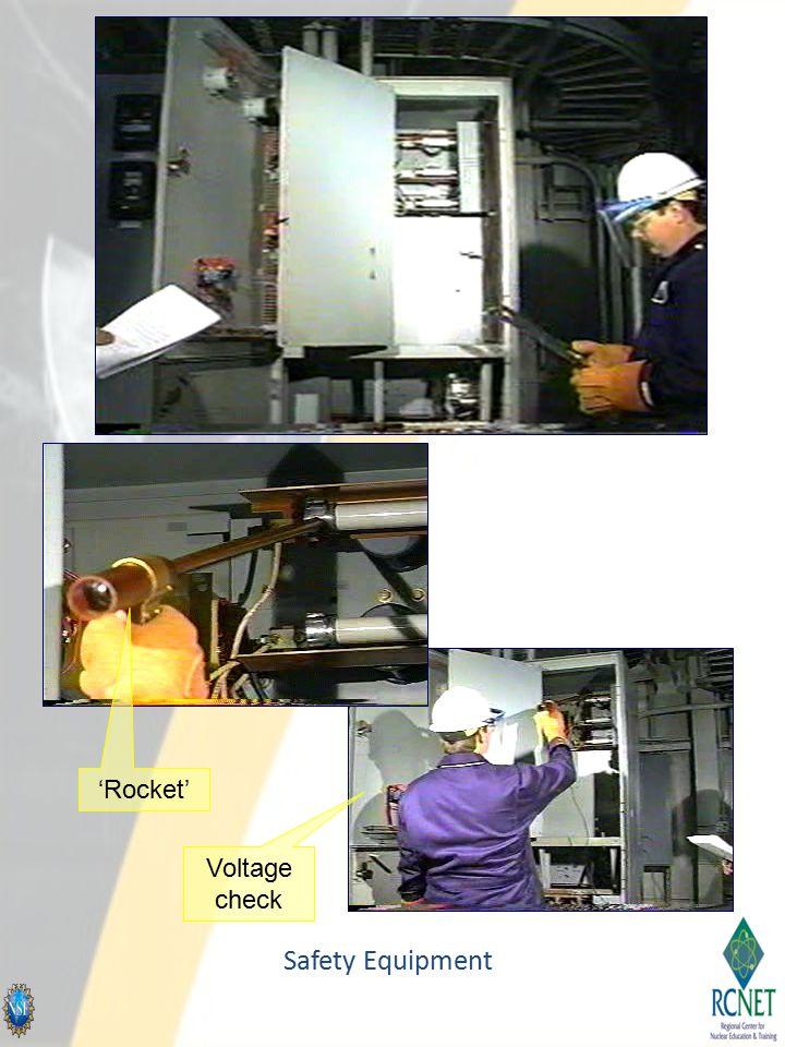 Safety Equipment Voltage check 'Rocket'