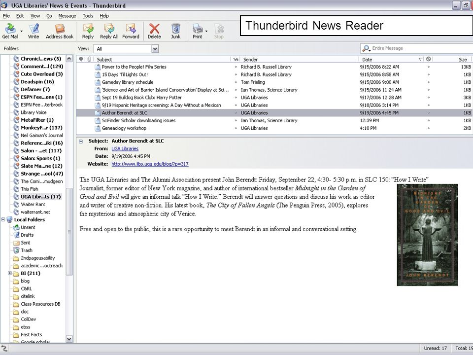 Thunderbird News Reader