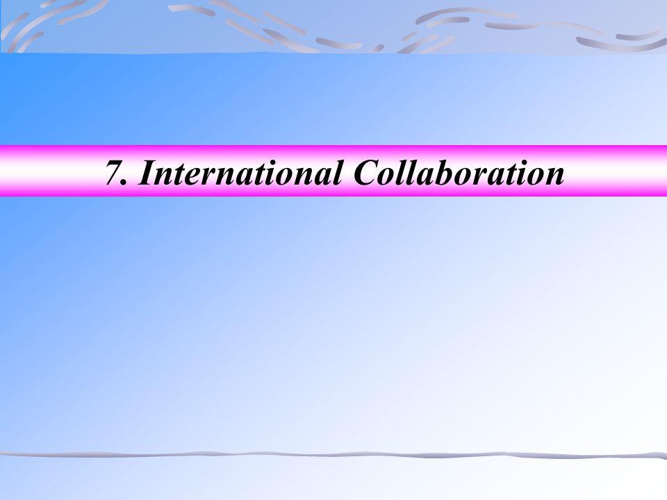 7. International Collaboration
