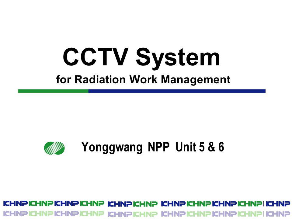 Ⅲ. Description of CCTV system [cont'd] □ View of Fixed Camera
