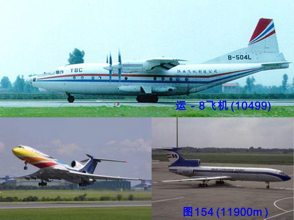 运- 8 飞机 (10499) 图 154 (11900m )