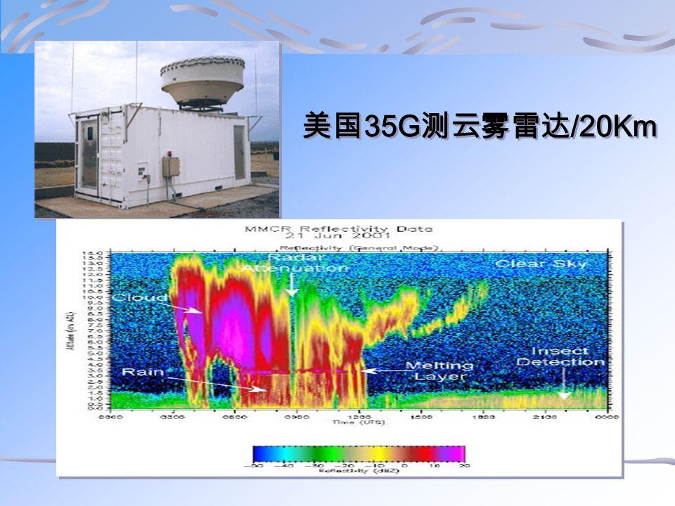 美国 35G 测云雾雷达 /20Km
