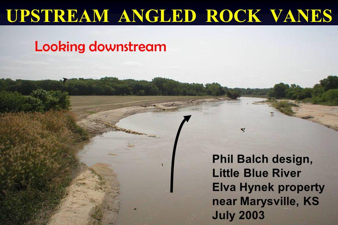 Rising Limb 40,000 cfs flood Rock Vanes Site # 8 – E. Hynek