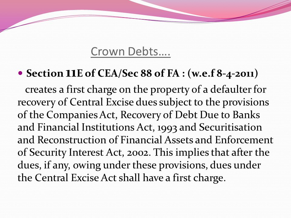 Crown Debts Krishna Lifestyle Technologies Ltd. Vs.