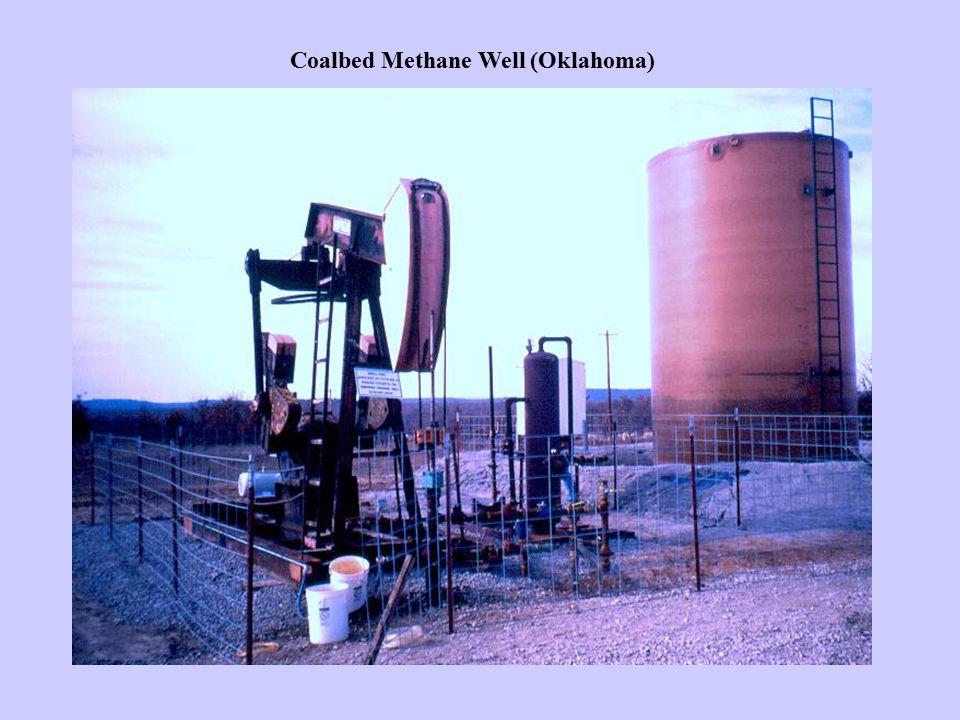 Coalbed Methane Well (Oklahoma)