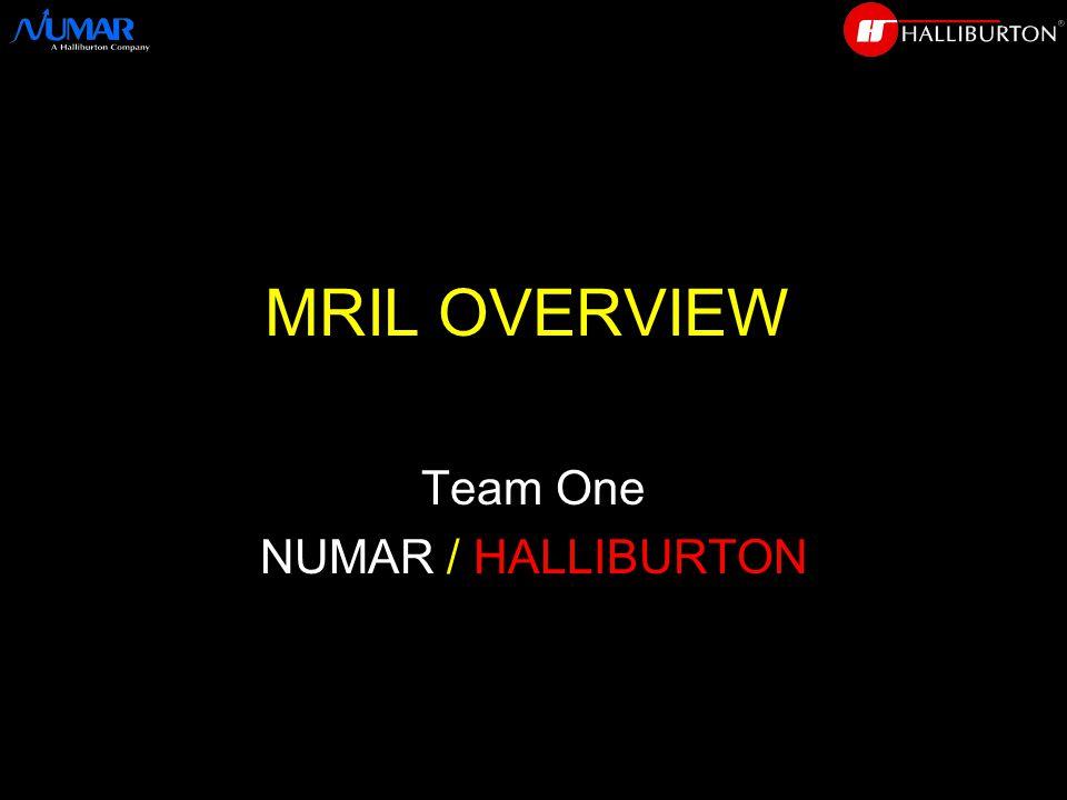 MRIL OVERVIEW Team One NUMAR / HALLIBURTON