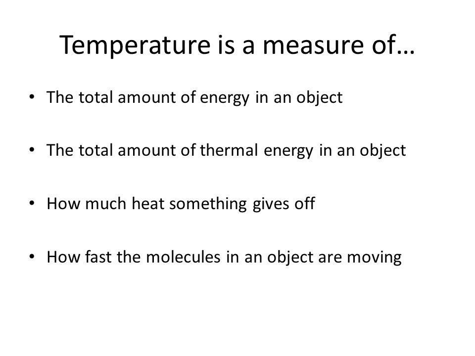 How does the thermometer know how hot the substance is?
