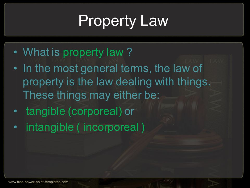 Types of Property Rights -> Quasi- Usufruct When a right of usufruct is established on assets which are perishable or which are intended to be consumed, the holder of the usufruct cannot fulfil his obligation as a good usufructuary to preserve the assets.