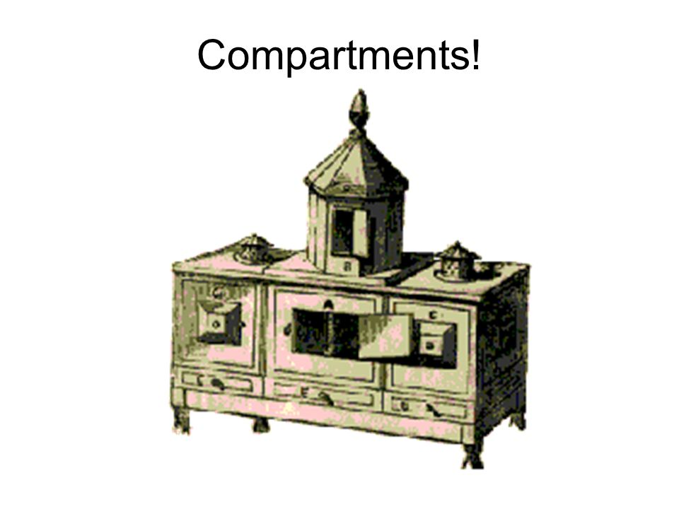 Compartments!