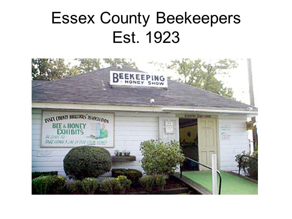 Essex County Beekeepers Est. 1923