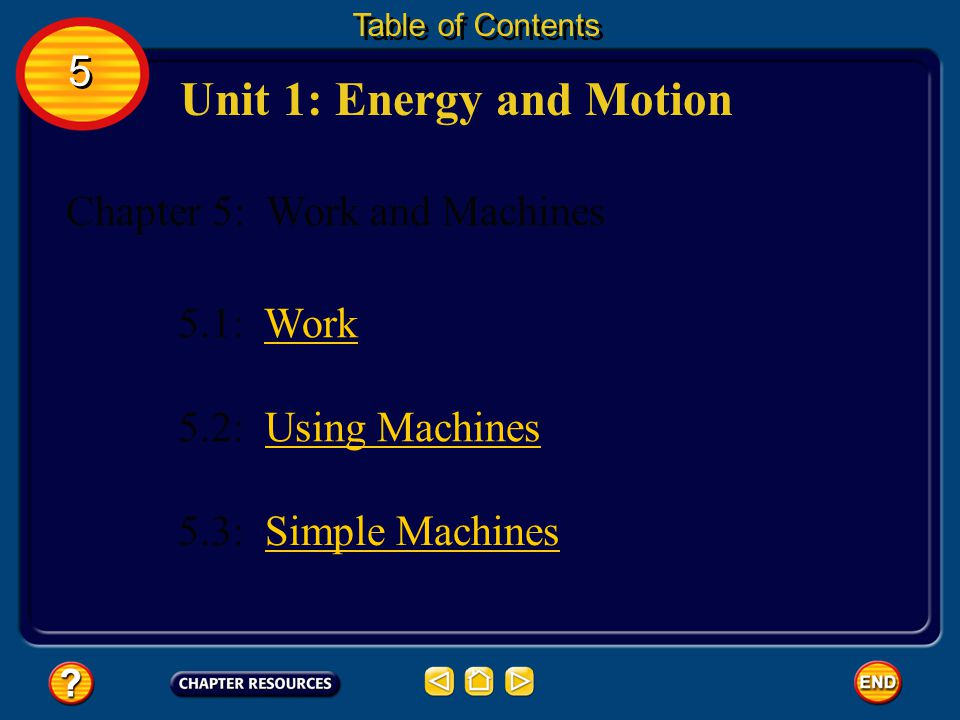 To calculate the efficiency of a machine, the output work is divided by the input work.