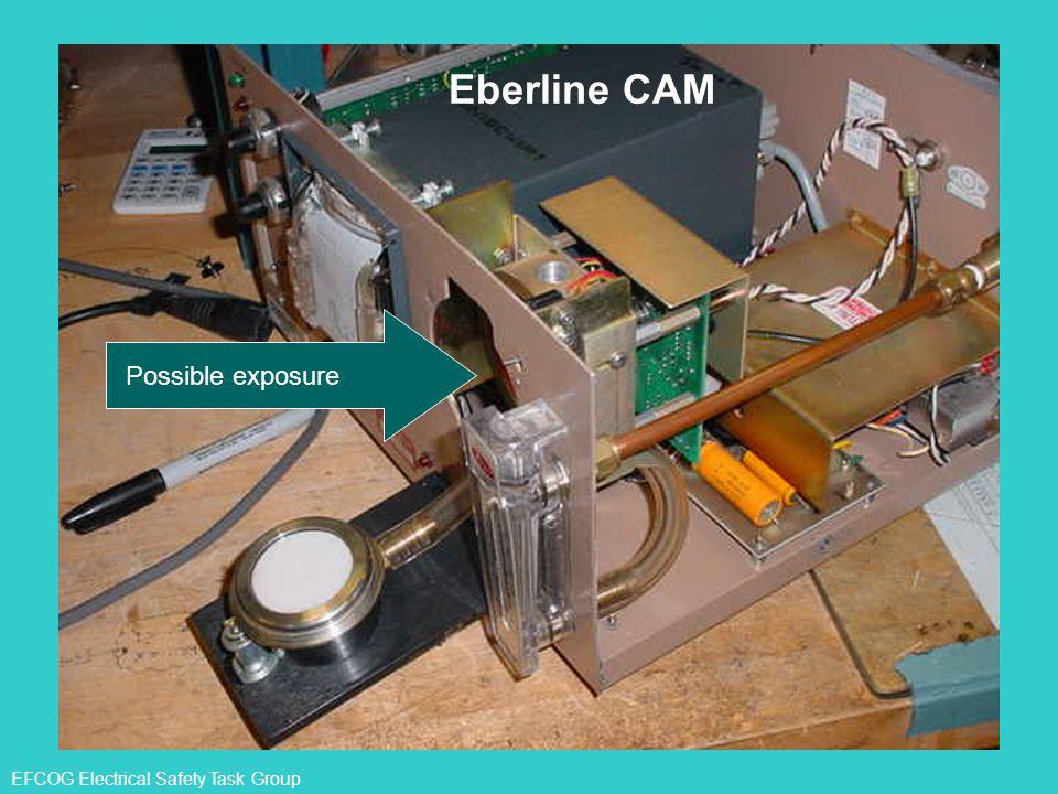 EFCOG Electrical Safety Task Group Possible exposure Eberline CAM