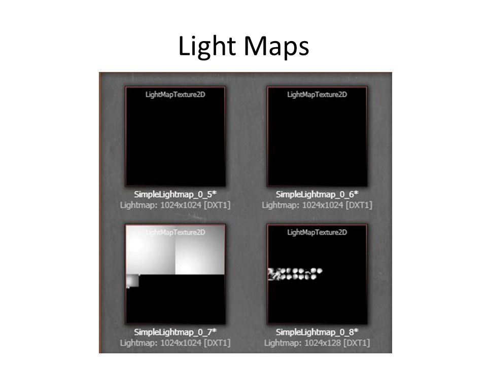 Light Maps