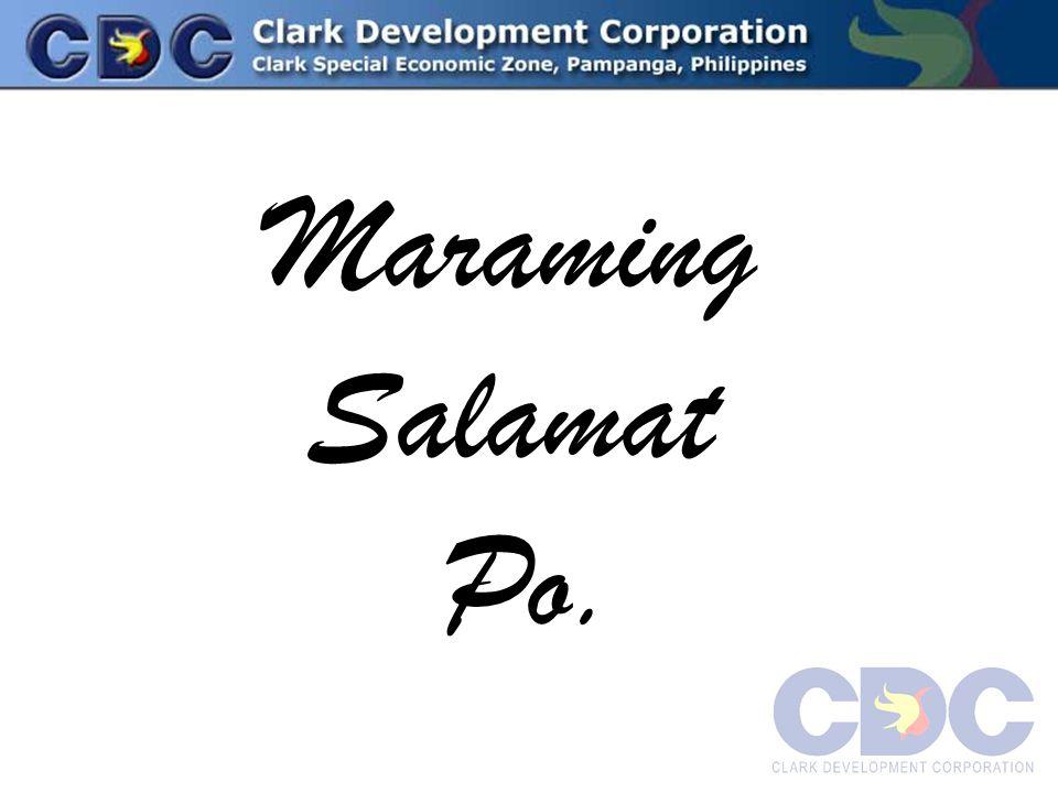 Maraming Salamat Po.