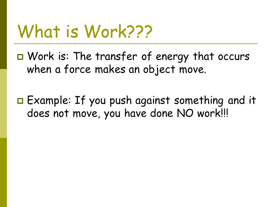Power Practice Problem #1  You do 900J of work in pushing a sofa.