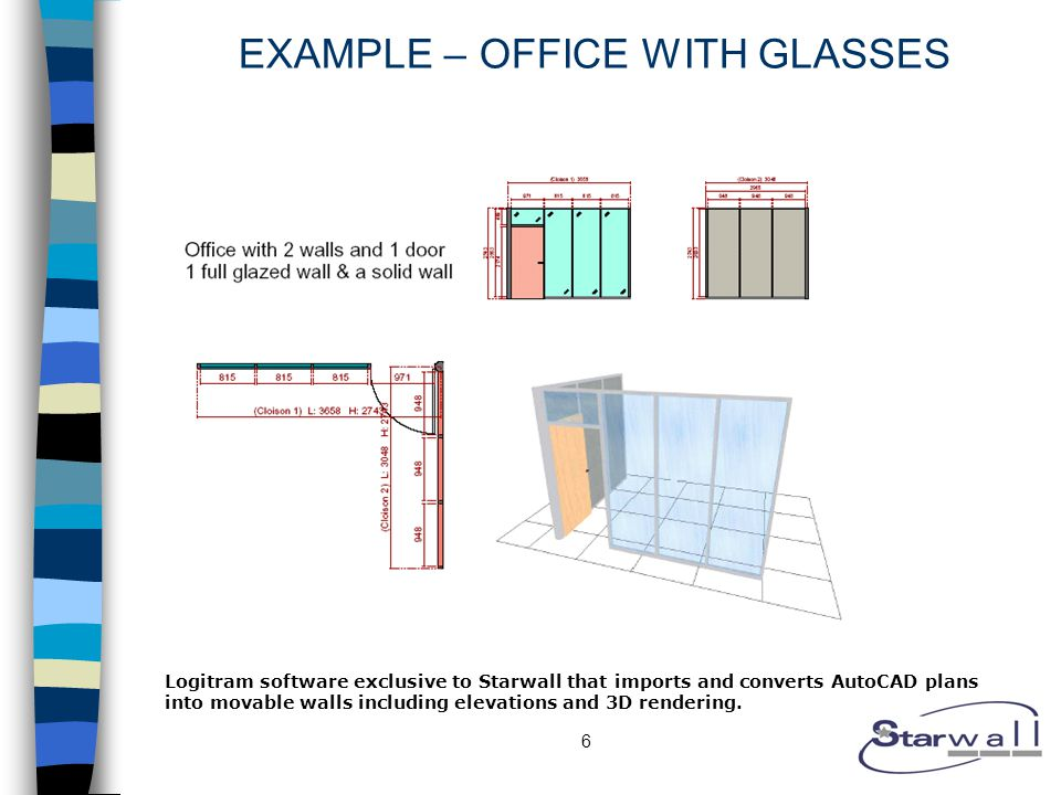 7 DRYWALL PRICE – OFFICE WITH GLASSES