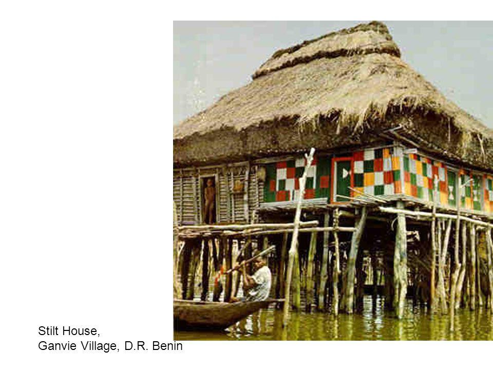 Stilt House, Ganvie Village, D.R. Benin